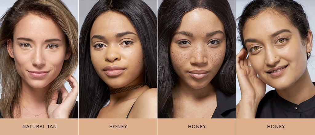 How to apply concealer and foundation on dark skin