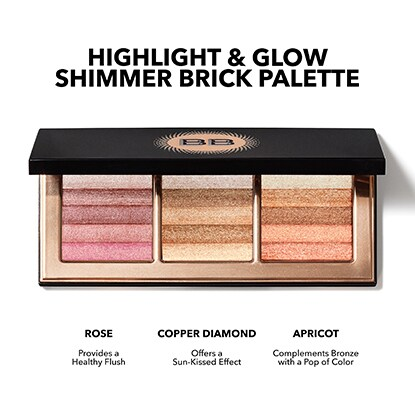 Highlight & Glow Shimmer Brick Palette