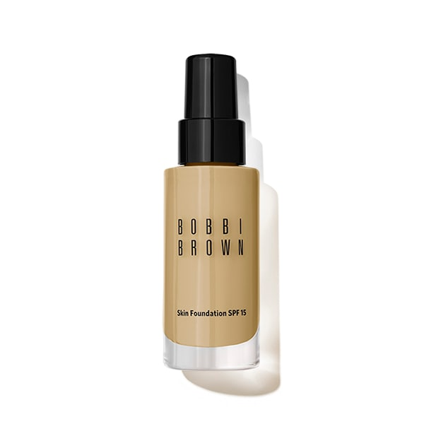 A truly modern foundation that offers invisible, weightless coverage that looks like skin, not makeup. This long-wearing formula evens tone, minimizes the appearance of pores, conceals imperfections, and offers broad spectrum UV protection. Its hydrating technology leaves skin feeling cushioned, comfortable, and clean. Ideal for all skin types. Click here for help in finding your shade. Click for Bobbi Brown\\\'s Perfect Skin Makeup Lesson. Qualifies for Free Shipping and Free Returns.